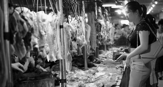 浙江衢州:毛猪收购价回落 上涨了一年多的肉价出现调头迹象